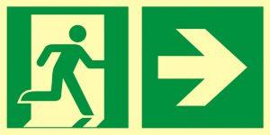 Drogi ewakuacyjne – prawidłowe oznakowanie