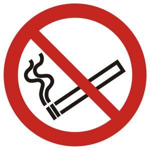 Tablica – zakaz palenia