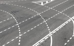Znaki drogowe poziome