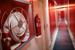 Identyfikacja i umiejscowienie sprzętu przeciwpożarowego