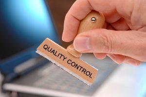 System kontroli jakości WE dla produktu finalnego