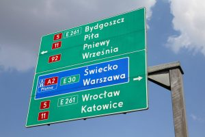 Znaki kierunku i miejscowości – znaki drogowe, cz. VI