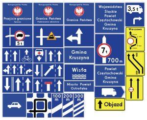 Znaki uzupełniające – znaki drogowe, cz. VII