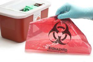 Magazynowanie odpadów medycznych