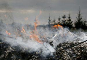 Magazynowanie odpadów o właściwościach palnych