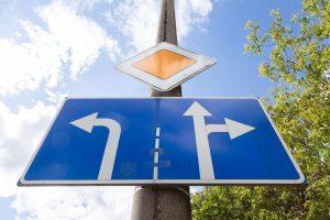 Zasady umieszczania znaków drogowych pionowych