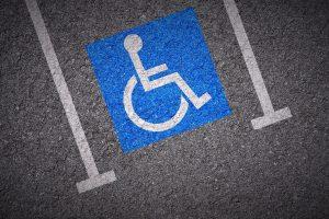 Miejsca parkingowe dla niepełnosprawnych