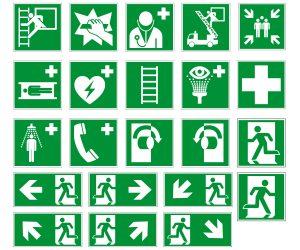 Ewakuacyjne znaki bezpieczeństwa – PN-EN ISO 7010
