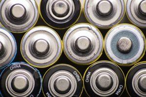 Znak dla akumulatora litowego