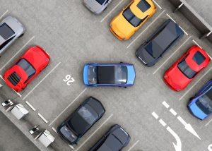 """Oznakowanie parkingu – znak D-18 """"parking"""""""