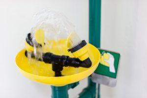 Natryski ratunkowe – oznakowanie i wymagania