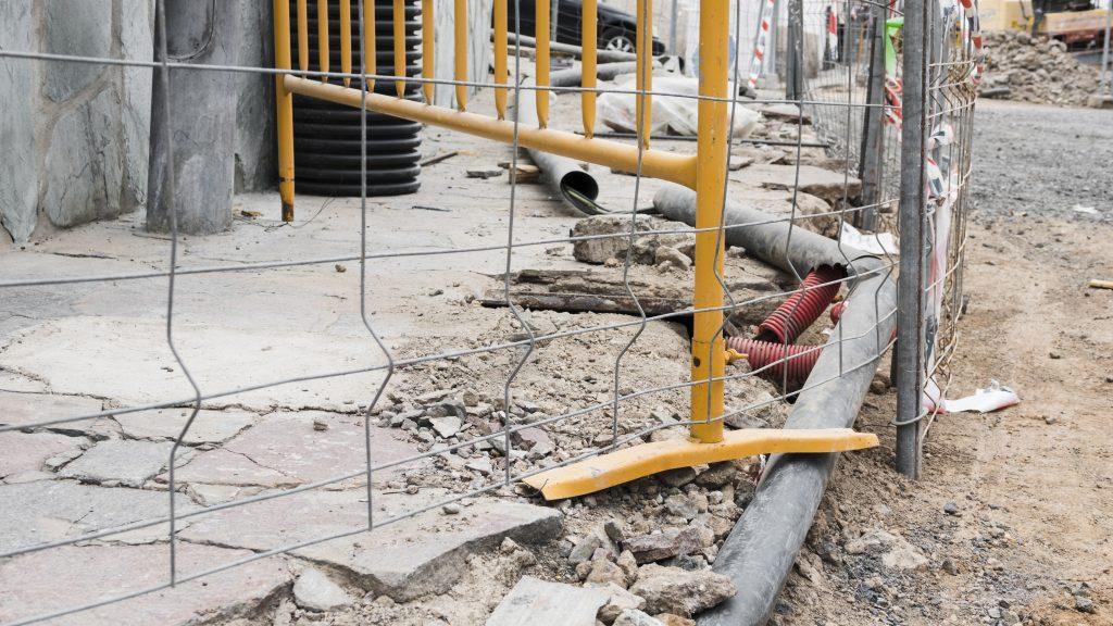 Strefy na budowie, ktore powinny byc odgrodzone