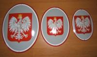 Tablica emaliowana na ścianę, na zamówienie - Godło Polski