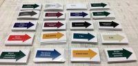 Oznakowanie i oznaczenia rurociągów, tabliczki i naklejki na zamówienie