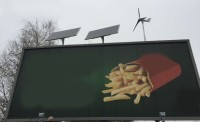 Solarne oświetlenie reklam i bilboardów w przestrzeni miejskiej i nie tylko