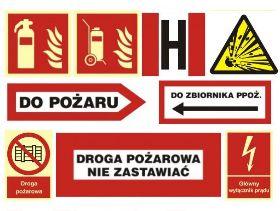 Znaki ochrony przeciwpożarowej PPOŻ