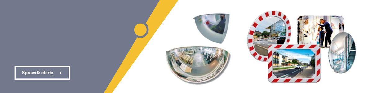 Pełna oferta w dziale Lustra drogowe, przemysłowe i sklepowe