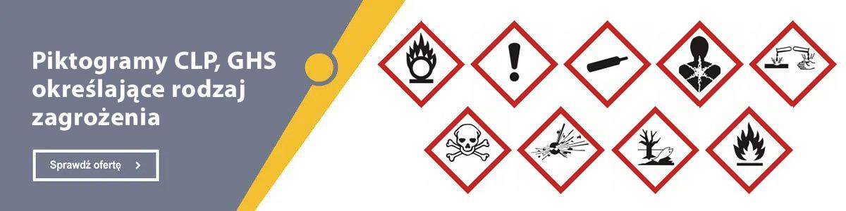 Pełna oferta w dziale Piktogramy CLP, GHS określające rodzaj zagrożenia
